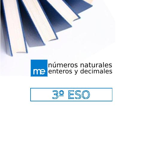 Números naturales, enteros y decimales